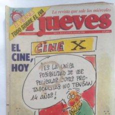 Collectionnisme de Magazine El Jueves: EL JUEVES 451 - 15 AL 21 ENERO 1986 - EL CINE HOY, CINE X - TODO SOBRE EL IVA. Lote 219115390