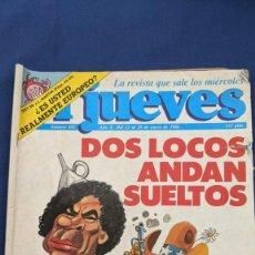 Coleccionismo de Revista El Jueves: REVISTA EL JUEVES Nº 452 ENERO 1986. Lote 219491772