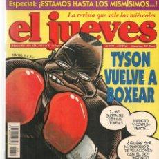 Coleccionismo de Revista El Jueves: EL JUEVES. Nº 954. TYSON VUELVE A BOXEAR. 6 SEPBRE 1995. (P/B9). Lote 221386692