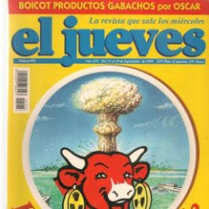 Coleccionismo de Revista El Jueves: EL JUEVES. Nº 955. LA VACA QUE FRÍE. 13 SEPBRE 1995. (P/B9). Lote 221386903