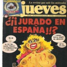Coleccionismo de Revista El Jueves: EL JUEVES. Nº 960. ¿JURADO EN ESPAÑA?. POSTER: EL PAPA EL NEW YORK(VIZCARRA). 18 OCTUB 1995. (P/B9). Lote 221387192