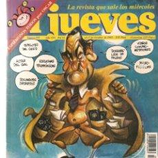 Coleccionismo de Revista El Jueves: EL JUEVES. Nº 959. CONDE ENSEÑA LAS VERGÜENZAS.POSTER: ANTONIO BANDERAS(VIZCARRA 11/X/ 1995. (P/B9). Lote 221387470