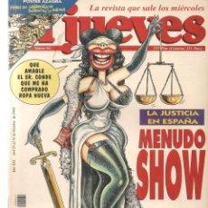 Coleccionismo de Revista El Jueves: EL JUEVES. Nº 961. MENUDO SHOW. POSTER: AZAGRA. 25 OCTUBRE 1995. (P/B9). Lote 221387676