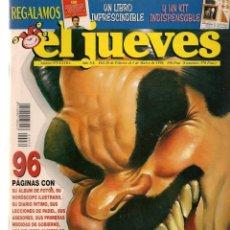 Coleccionismo de Revista El Jueves: EL JUEVES. Nº 979. EXTRA AZNAR. POSTER: ANA BOTELLA, ÍNTIMA. 28 FEBRERO 1996. (P/B9). Lote 221390567