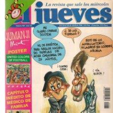 Coleccionismo de Revista El Jueves: EL JUEVES. Nº 985. SERIES ESPAÑOLAS. CON POSTER CENTRAL. 10 ABRIL 1996. (P/B9). Lote 221390900