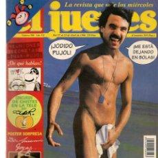 Coleccionismo de Revista El Jueves: EL JUEVES. Nº 986. PACTOS CON DOLOR. POSTER: GOYA, 250 AVIVERSARIO. 23 ABRIL 1996. (P/B9). Lote 221391145