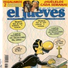 Coleccionismo de Revista El Jueves: EL JUEVES. Nº 987. ENSAYANDO EL DÍA ¨D¨. POSTER: ROLLING STONES. 30 ABRIL 1996. (P/B9). Lote 221391881