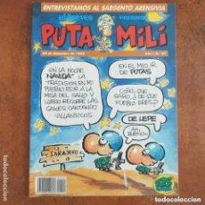 Coleccionismo de Revista El Jueves: PUTA MILI NUM 27. Lote 221466395