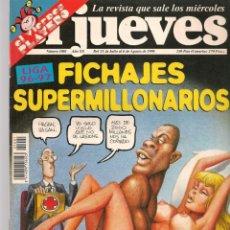 Coleccionismo de Revista El Jueves: EL JUEVES. Nº 1001. FICHAJES SUPERMILLONARIOS. POSTER CENTRAL. 31 JULIO 1996. (P/B9). Lote 221469308