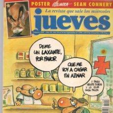 Coleccionismo de Revista El Jueves: EL JUEVES. Nº 1008. TODO A 100. POSTER: SEAN CONNERY.(VIZCARRA). 18 SEPBRE. 1996. (P/B9). Lote 221471093