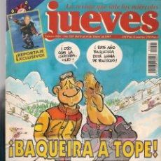 Coleccionismo de Revista El Jueves: EL JUEVES. Nº 1024. ¡BAQUEIRA A TOPE!. POSTER: JIM CARREY.(VIZCARRA). 8 ENERO 1997. (P/B9). Lote 221471273