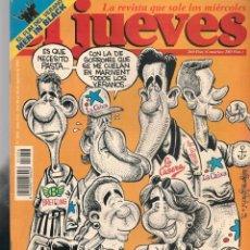 Coleccionismo de Revista El Jueves: EL JUEVES. Nº 1056. REAL PUBLICIDAD. POSTER: GEORGE CLOONEY. (VIZCARRA). 20 AGOSTO 1997 (P/B9). Lote 221475957