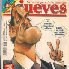 Coleccionismo de Revista El Jueves: EL JUEVES. Nº 1165. MARIO FOR PRESIDENT. POSTER: LIAM NEESON. (VIZCARRA). 22 SEPBRE. 1999. (P/B9). Lote 221476386