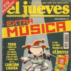 Coleccionismo de Revista El Jueves: EL JUEVES. Nº 1333. EXTRA MÚSICA. CON SUPLEMENTO: TÍO SANTIAGO.11 DCBRE. 2002.(P/B9). Lote 221477008