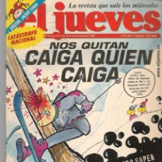 Coleccionismo de Revista El Jueves: EL JUEVES. Nº 1334. NOS QUITAN CAIGA QUIÉN CAIGA. POSTER: JACKIE CHAN.(VIZCARRA). 18/XII/ 2002(P/B9). Lote 221477393