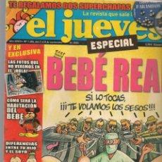 Coleccionismo de Revista El Jueves: EL JUEVES. Nº 1484. ESPECIAL BEBÉ REAL. POSTER: BORBÓN Y CUENTA NUEVA. 2 NOVIEMBRE 2005. (P/B9).. Lote 221478165