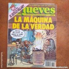 Coleccionismo de Revista El Jueves: EL JUEVES NUM 822. LA MÁQUINA DE LA VERDAD. Lote 221478967