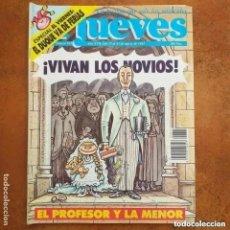 Coleccionismo de Revista El Jueves: EL JUEVES NUM 825 EL PROFESOR Y LA MENOR.. Lote 221479013