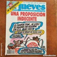 Coleccionismo de Revista El Jueves: EL JUEVES NUM 843. UNA PROPOSICIÓN INDECENTE. Lote 221479201