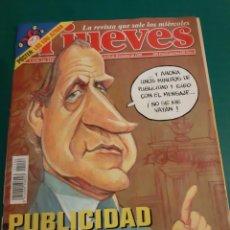 Coleccionismo de Revista El Jueves: REVISTA JUEVES JUAN CARLOS PUBLICIDAD 1998 NÚMERO 1126 NIÑO SUPERSTAR AGNAR CLIO SINCE 1913 M. Lote 221695050