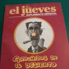 Coleccionismo de Revista El Jueves: 1980 EL JUEVES HUMOR SUPLEMENTO MENSUAL GROUÑIDOS EN EL DESIERTO VENTURA / NIETO. Lote 221698077