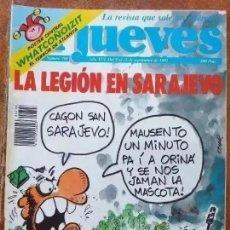 Coleccionismo de Revista El Jueves: EL JUEVES NUM 798. LA LEGION EN SARAJEVO. Lote 221707920