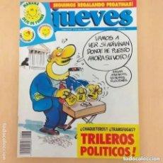 Coleccionismo de Revista El Jueves: EL JUEVES NUM 627. TRILEROS POLITICOS. Lote 221707983