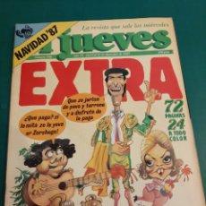 Coleccionismo de Revista El Jueves: EL JUEVES EXTRA 1987 NUMERADA 550 NAVIDAD COLECCIONISMO COLISEVM LUGO. Lote 221773827