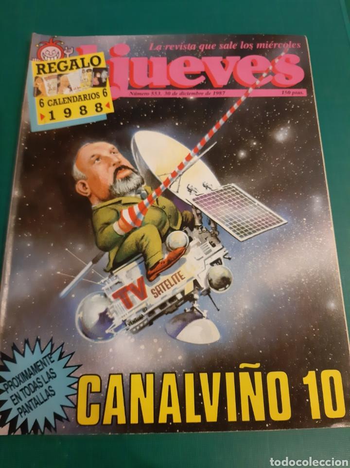 CALVIÑO 10 19988 EL JUEVES HUMOR SIN CALENDARIOS COLECCIONISMO COLISEVM (Coleccionismo - Revistas y Periódicos Modernos (a partir de 1.940) - Revista El Jueves)