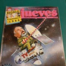 Coleccionismo de Revista El Jueves: CALVIÑO 10 19988 EL JUEVES HUMOR SIN CALENDARIOS COLECCIONISMO COLISEVM LUGO. Lote 221774142