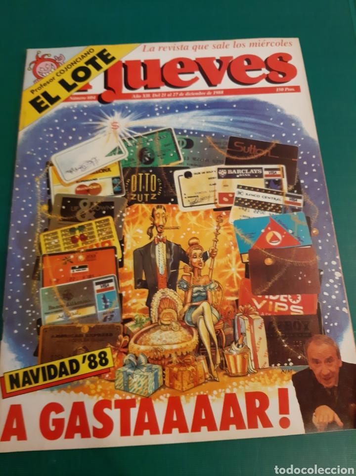 NAVIDAD 1998 EL JUEVES A GASTAAAR!.NUMERADA 604 LIBRERIA O ALMACÉN DO COLISEVM (Coleccionismo - Revistas y Periódicos Modernos (a partir de 1.940) - Revista El Jueves)