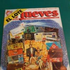 Coleccionismo de Revista El Jueves: NAVIDAD 1998 EL JUEVES A GASTAAAR!.NUMERADA 604 LIBRERIA O ALMACÉN DO COLISEVM LUGO. Lote 221776002