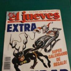 Coleccionismo de Revista El Jueves: EL JUEVES HUMOR REVISTA 654 1989 EXTRA NAVIDAD SIN CALENDARIO PUBLICIDAD CEAC ESTUDIOS. Lote 221777047
