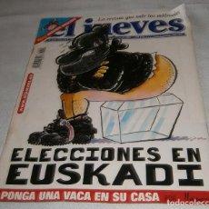 Coleccionismo de Revista El Jueves: EL JUEVES LA REVISTA QUE SALE LOS MIERCOLES MARZO 2001. Lote 221839858