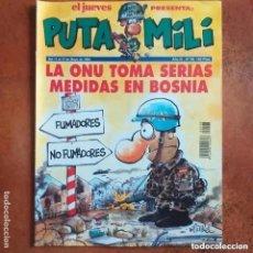 Coleccionismo de Revista El Jueves: PUTA MILI NUM 98. Lote 221896710