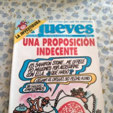 Coleccionismo de Revista El Jueves: REVISTA EL JUEVES (AÑO XVII, DEL 21 AL 27 DE JULIO DE 1993, N° 843). Lote 222195290