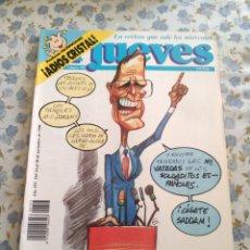 Coleccionismo de Revista El Jueves: REVISTA EL JUEVES (AÑO XIV, DEL 14 AL 20 DE NOVIEMBRE DE 1990, N° 703). Lote 222195405