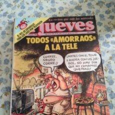 Coleccionismo de Revista El Jueves: REVISTA EL JUEVES (AÑO XVI, DEL 29 DE JULIO AL 4 DE AGOSTO DE 1992, N° 792). Lote 222199937