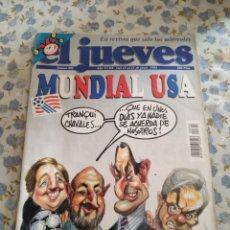 Coleccionismo de Revista El Jueves: REVISTA EL JUEVES (AÑO XVIII, DEL 15 AL 21 DE JUNIO DE 1994, N° 890). Lote 222200148