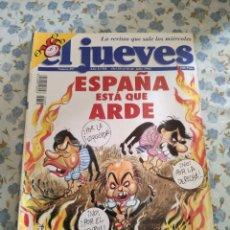 Coleccionismo de Revista El Jueves: REVISTA EL JUEVES (AÑO XVIII, DEL 20 AL 26 DE JULIO DE 1994, N° 895). Lote 222200608