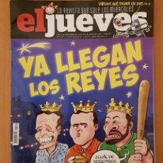 """Coleccionismo de Revista El Jueves: EL JUEVES N° 2.171 """"YA LLEGAN LOS REYES"""". Lote 222278915"""