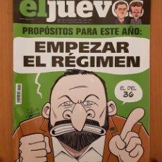 """Coleccionismo de Revista El Jueves: EL JUEVES N° 2.172 """"EMPEZAR EL RÉGIMEN"""". Lote 222279297"""