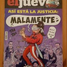 """Coleccionismo de Revista El Jueves: EL JUEVES N° 2.166 """"MALAMENTE"""". Lote 222279397"""