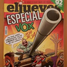 """Coleccionismo de Revista El Jueves: EL JUEVES N° 2.173 (ESPECIAL) """"ESPECIAL VOX"""". Lote 222279558"""