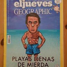 """Coleccionismo de Revista El Jueves: EL JUEVES N° 2.195 """"PLAYAS LLENAS DE MIERDA"""". Lote 222279701"""