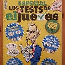 """Coleccionismo de Revista El Jueves: EL JUEVES N° 2.196 (ESPECIAL) """" ESPECIAL LOS TEST DEL JUEVES"""". Lote 222279841"""