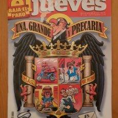 """Coleccionismo de Revista El Jueves: EL JUEVES N° 2.094 """"UNA, GRANDE Y PRECARIA"""". Lote 222280007"""