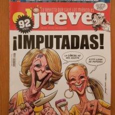 """Coleccionismo de Revista El Jueves: EL JUEVES N° 2.207 (ESPECIAL) """"IMPUTADAS"""". Lote 222280307"""