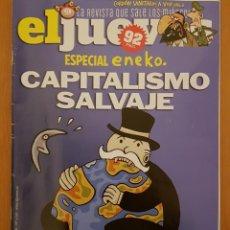 """Coleccionismo de Revista El Jueves: EL JUEVES N° 2.218 (ESPECIAL ENEKO) """"CAPITALISMO SALVAJE"""". Lote 222280432"""