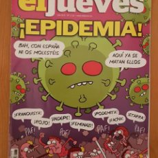 """Coleccionismo de Revista El Jueves: EL JUEVES N° 2.231 (ESPECIAL) """"EPIDEMIA"""". Lote 222280502"""